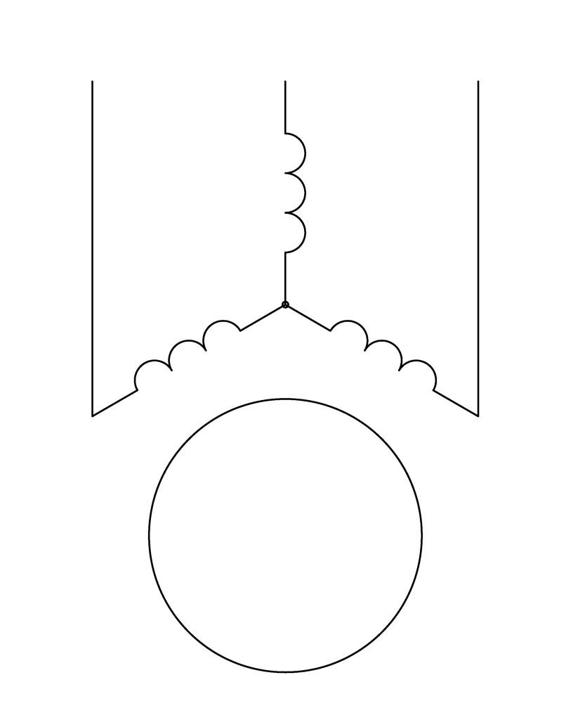 прямой пуск асинхронного двигателя
